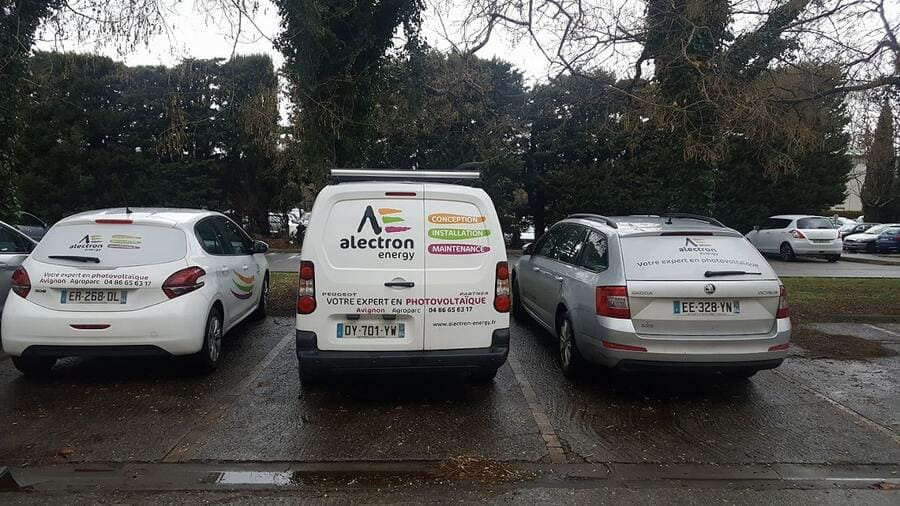 véhicule Alectron