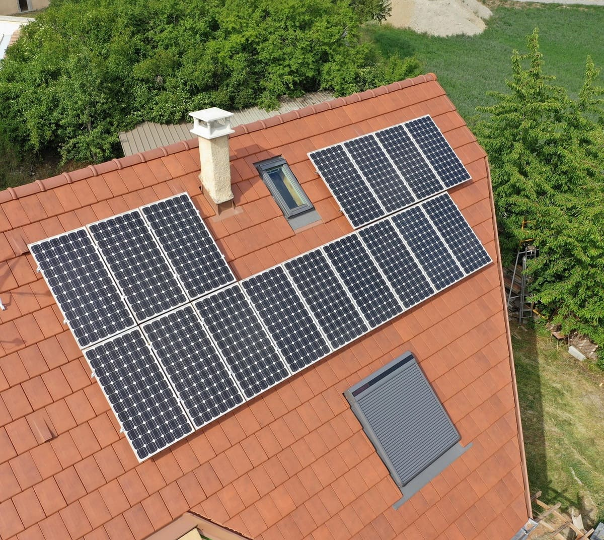 installation panneaux solaires Charance