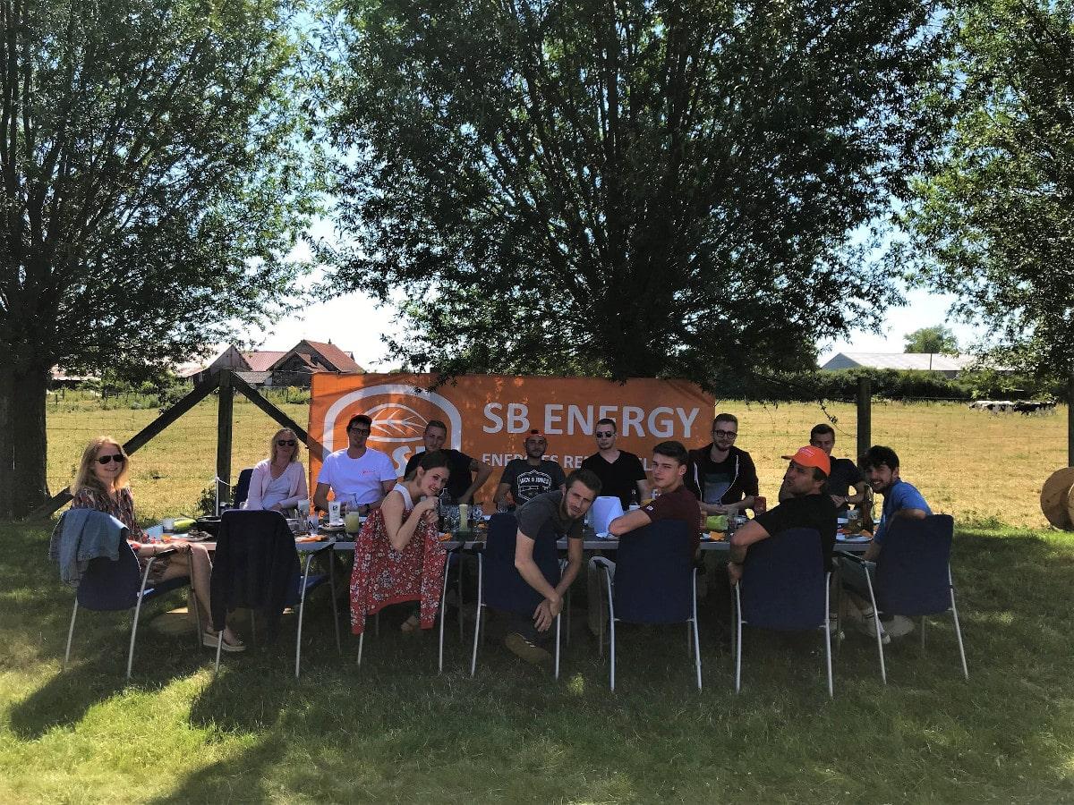 L'équipe Sb energy