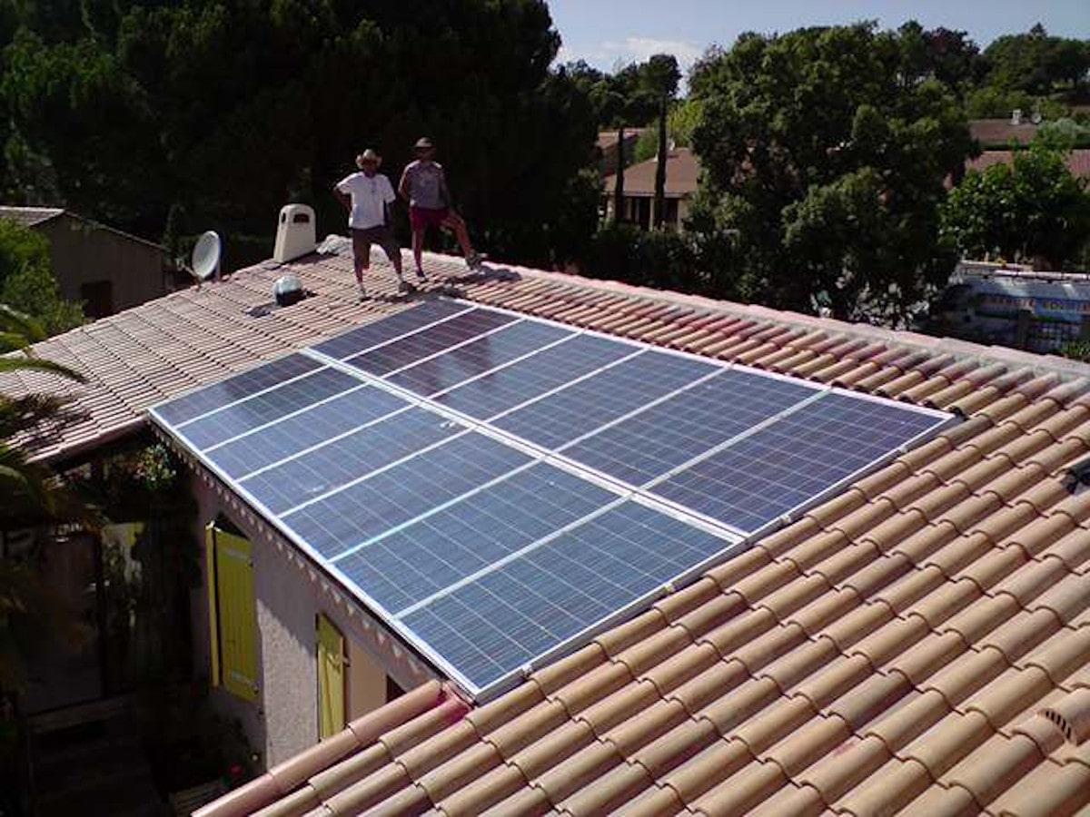 Panneaux solaire toit