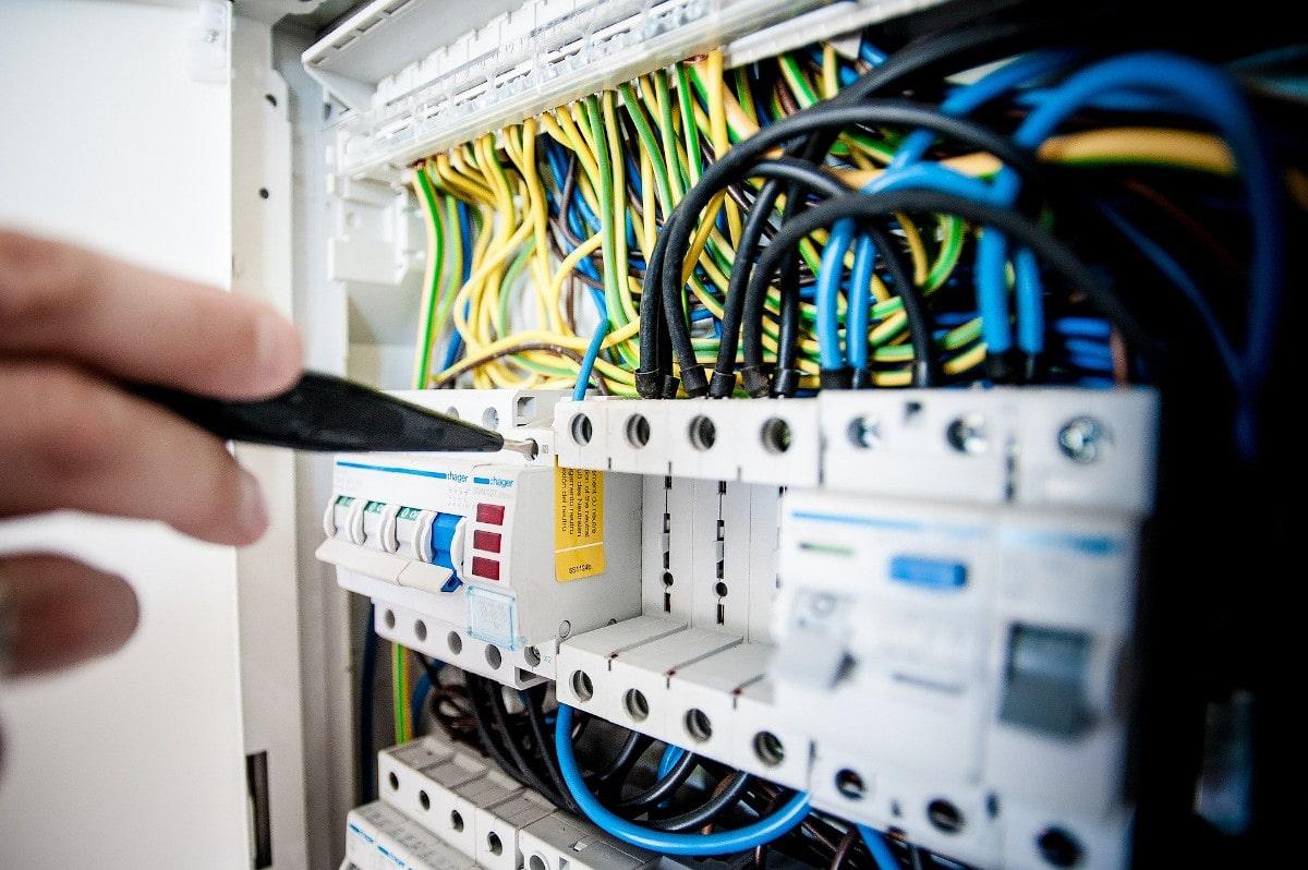 Installation tableau électrique Baten