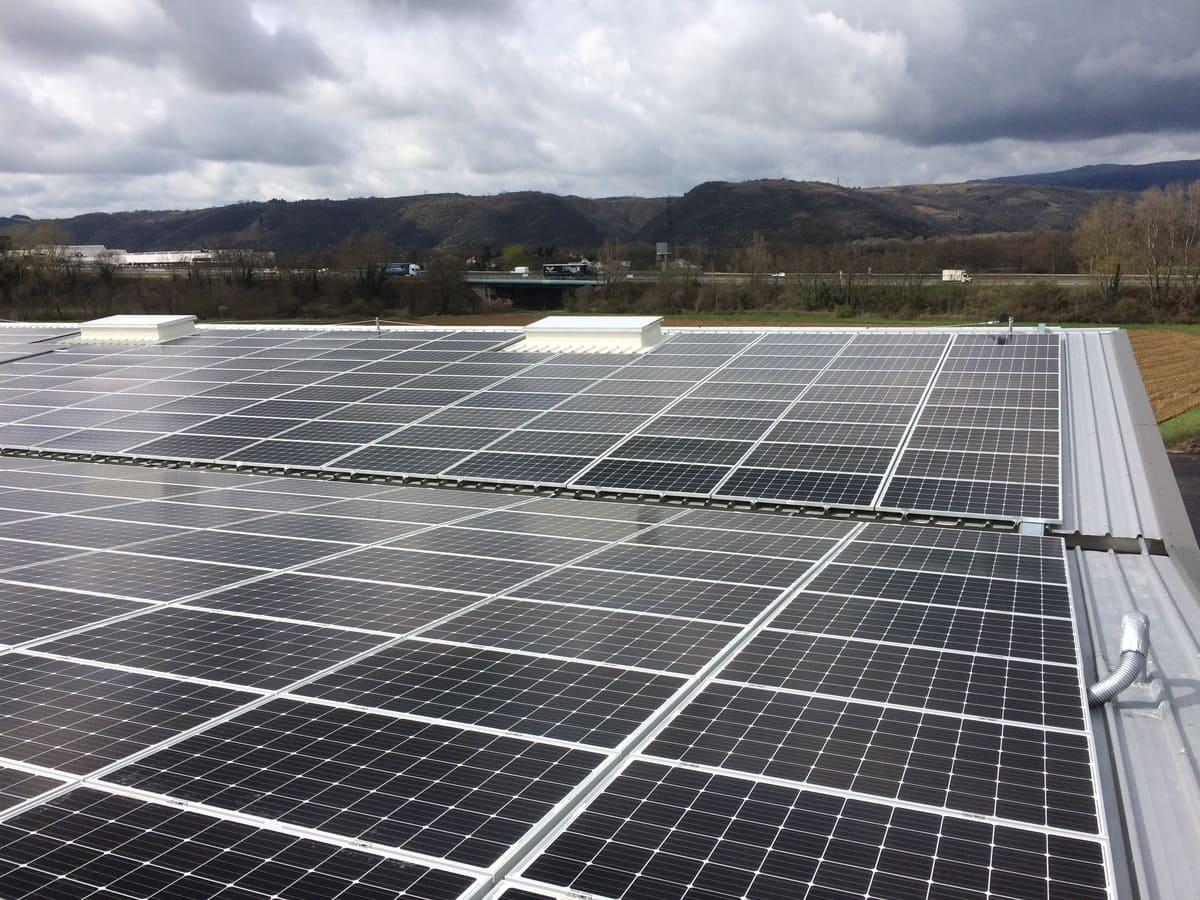 actenergie exemple panneaux solaires