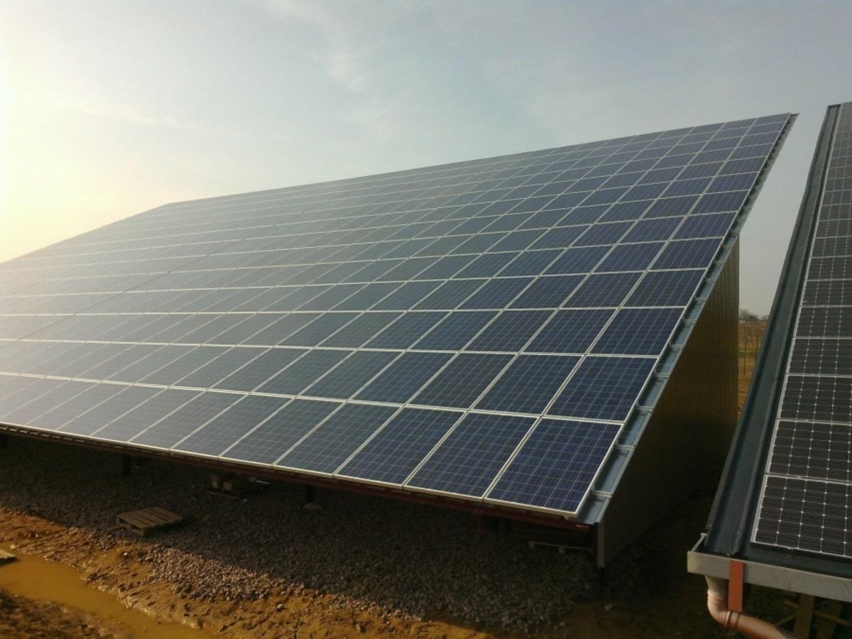 Alcone installation solaire