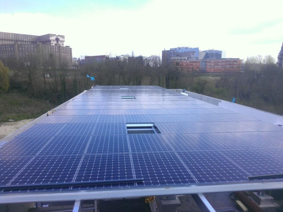 Alcone réalisation d'un projet photovoltaique