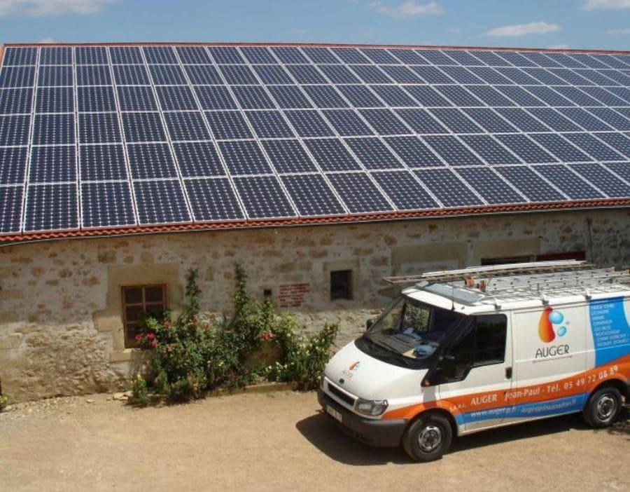 Auger projet d'installation solaire