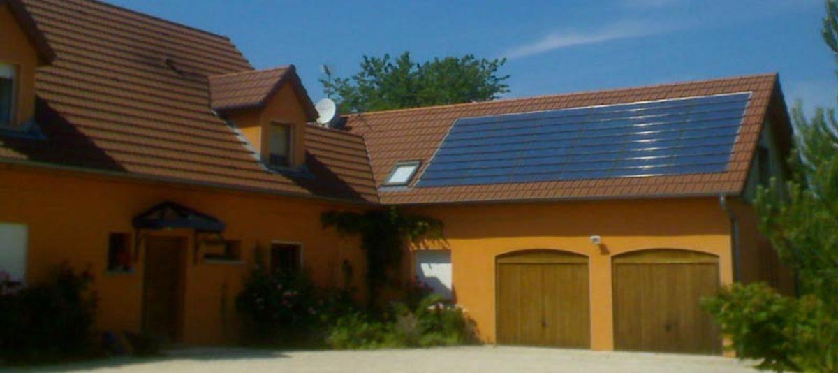 Batibois installation photovoltaique sur toit