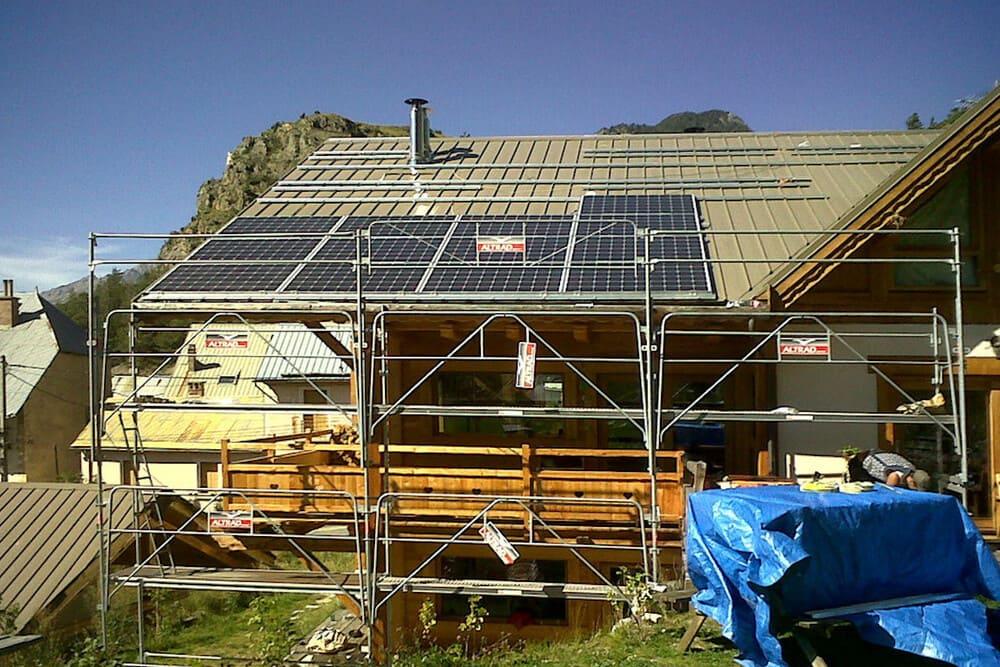 installation panneaux solaires boudot