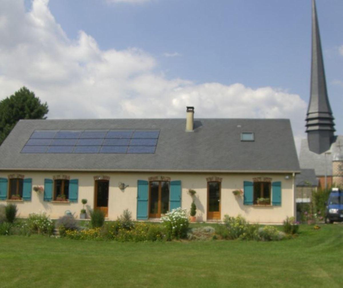 Cauchy Entreprise installation de panneaux solaires