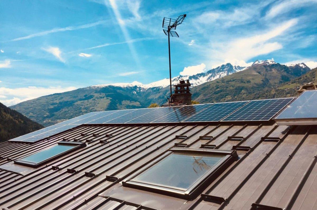 Cimes Energies solaire sur toit