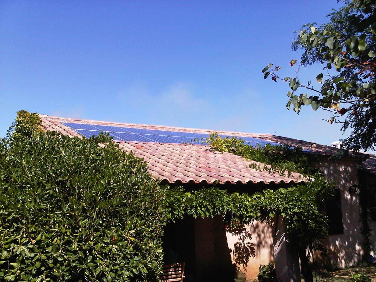 confort habitat energie exemple installation solaire