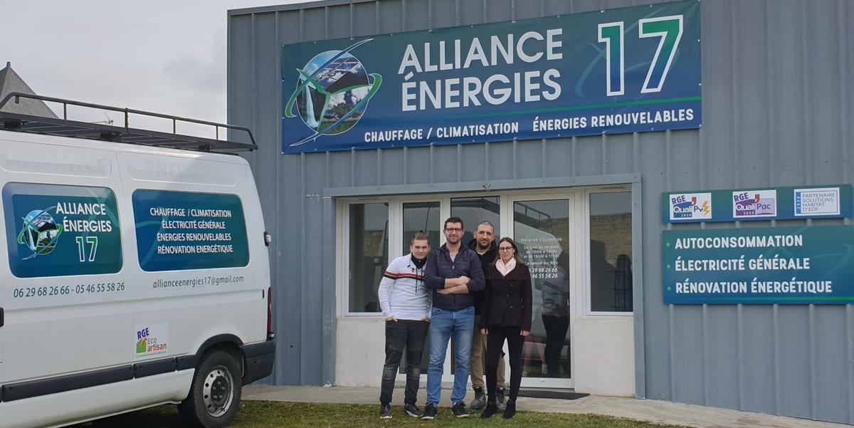 L'équipe Alliance Energies 17