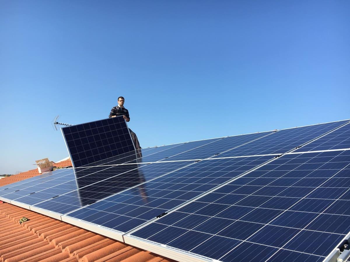 energie solaire equipe
