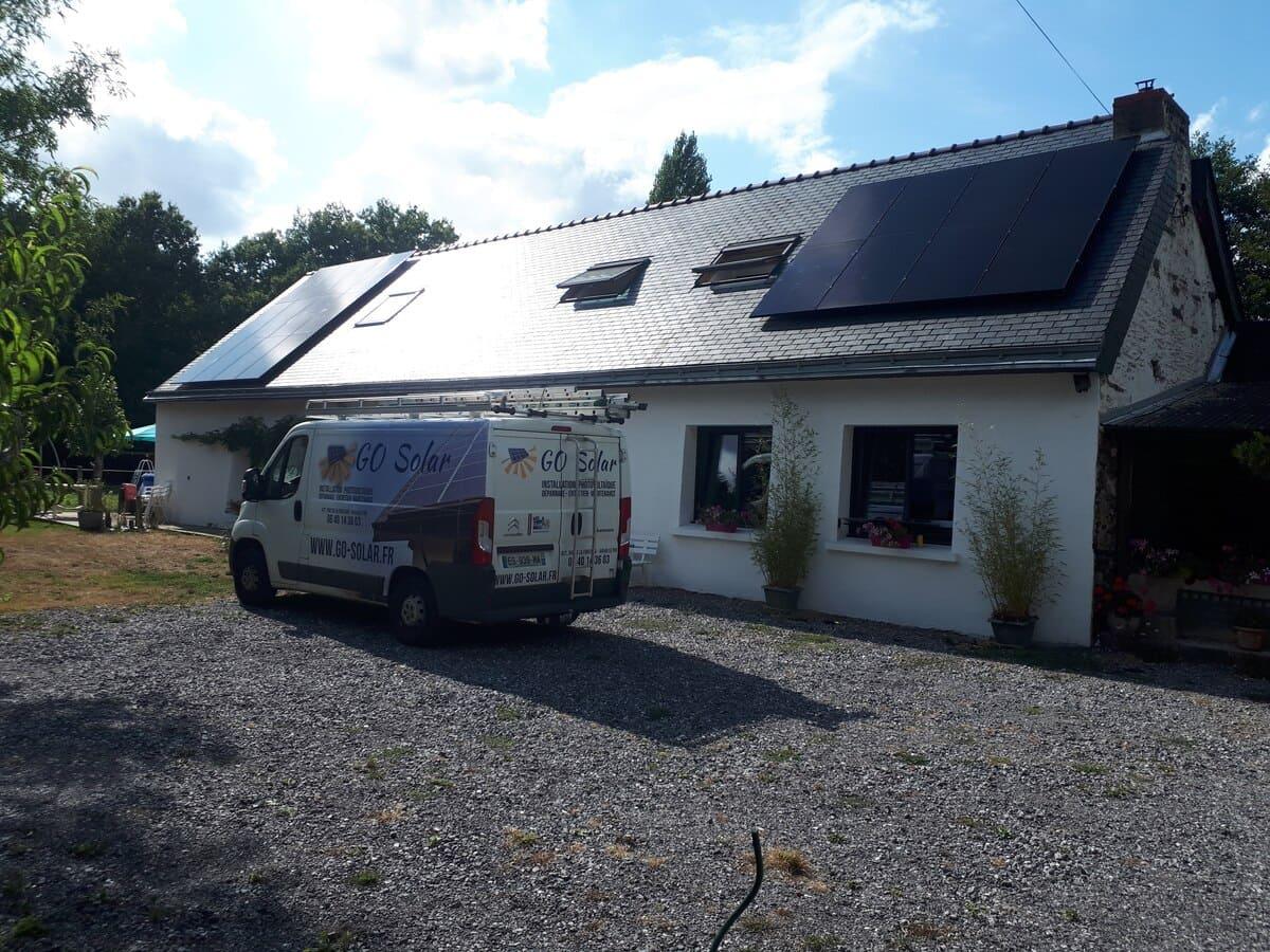 Go Solar panneaux solaires