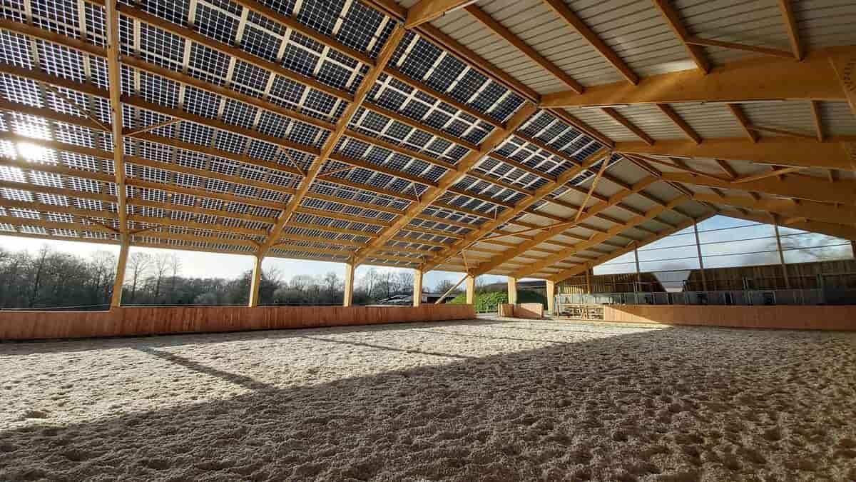Hangar solaire AJnrj