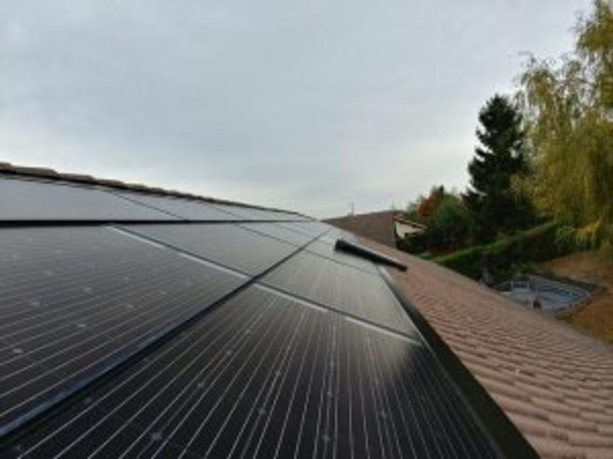 Heliophoton installation photovoltaique