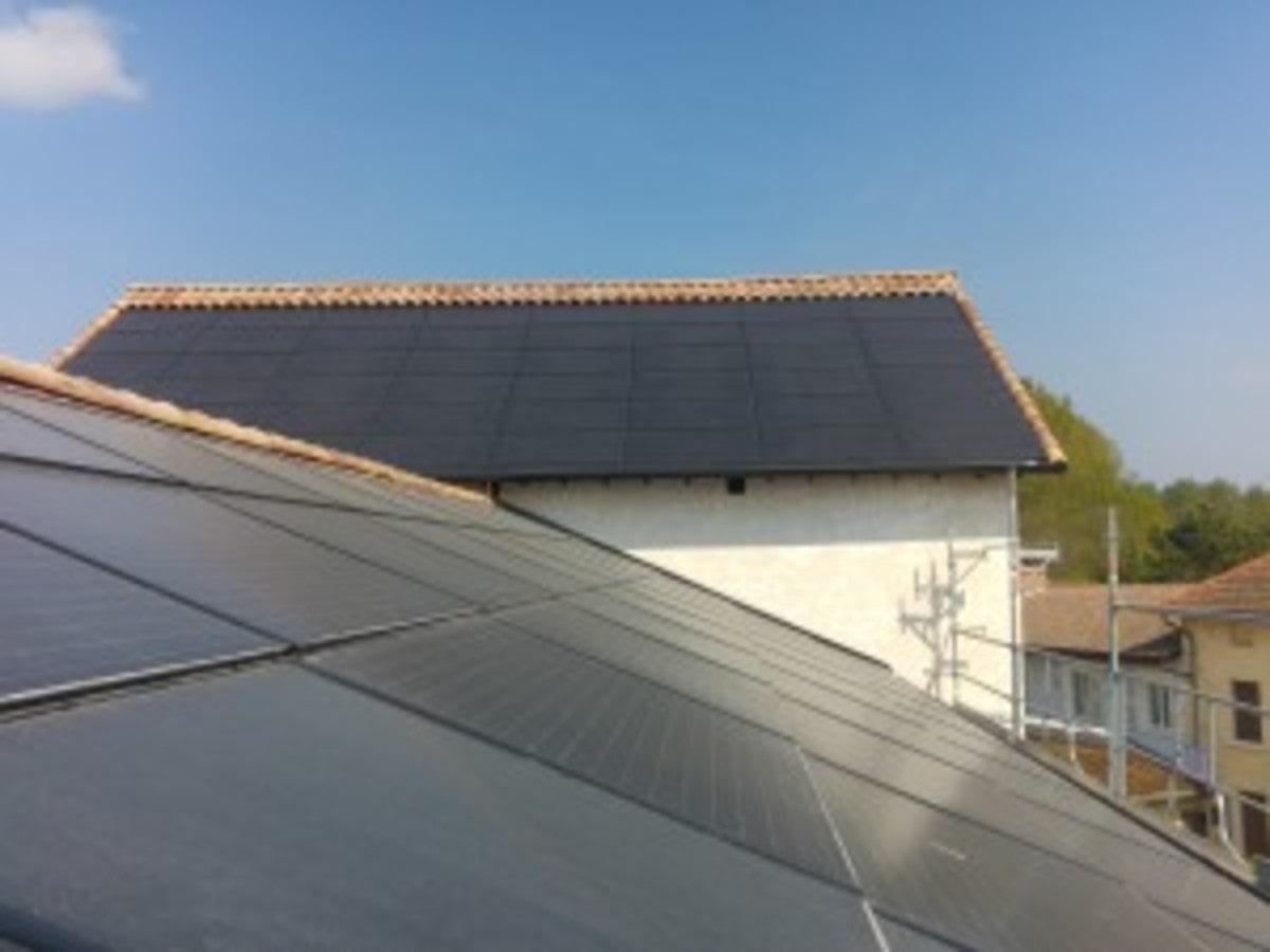 Heliophoton panneaux solaires sur toit