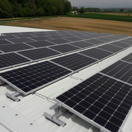 HydroAlsace projet d'installation solaire sur toit