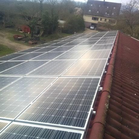 HydroAlsace installation photovoltaique