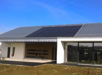 HydroAlsace installation solaire pour projet résidentiel