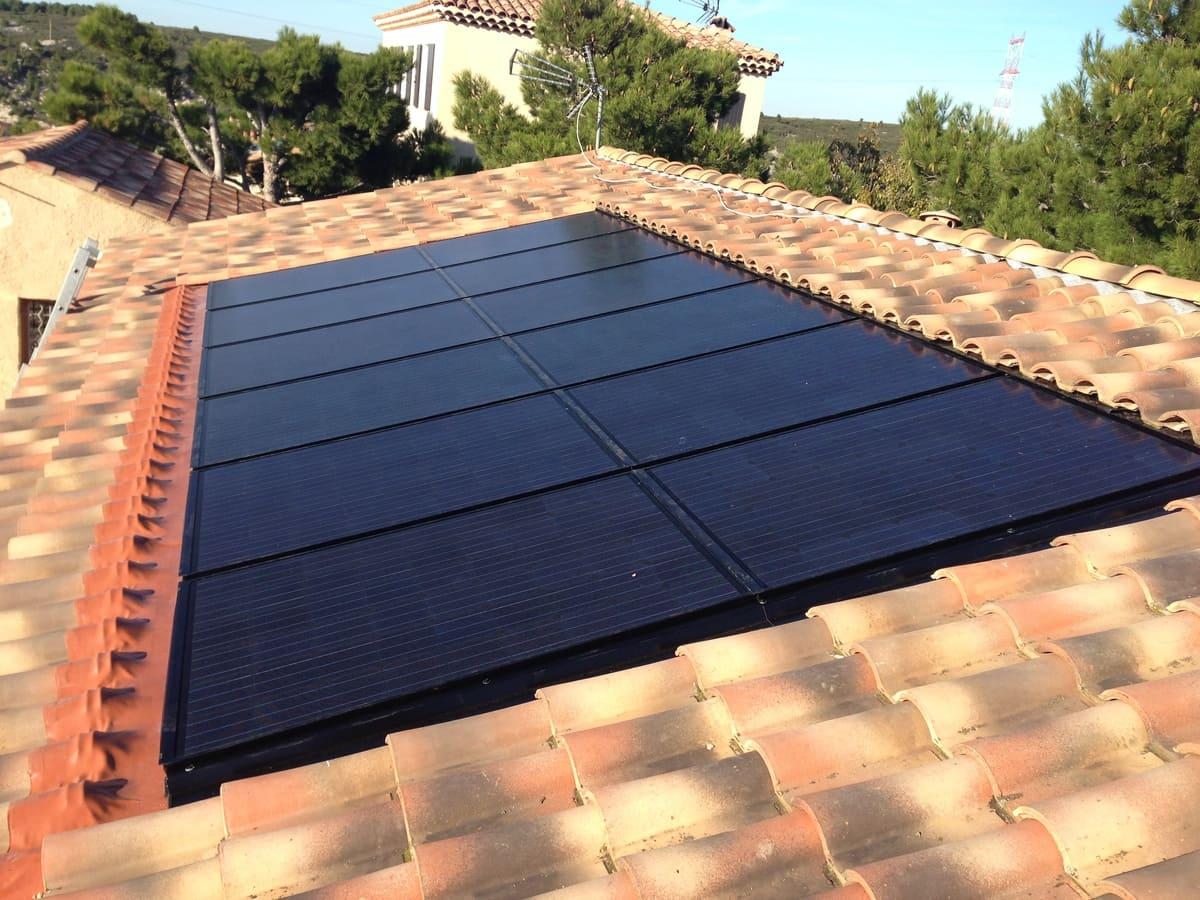 réalisation pose de panneaux solaires