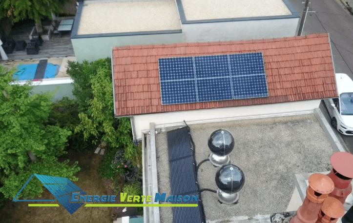 exemple de realisation solaire energie verte maison