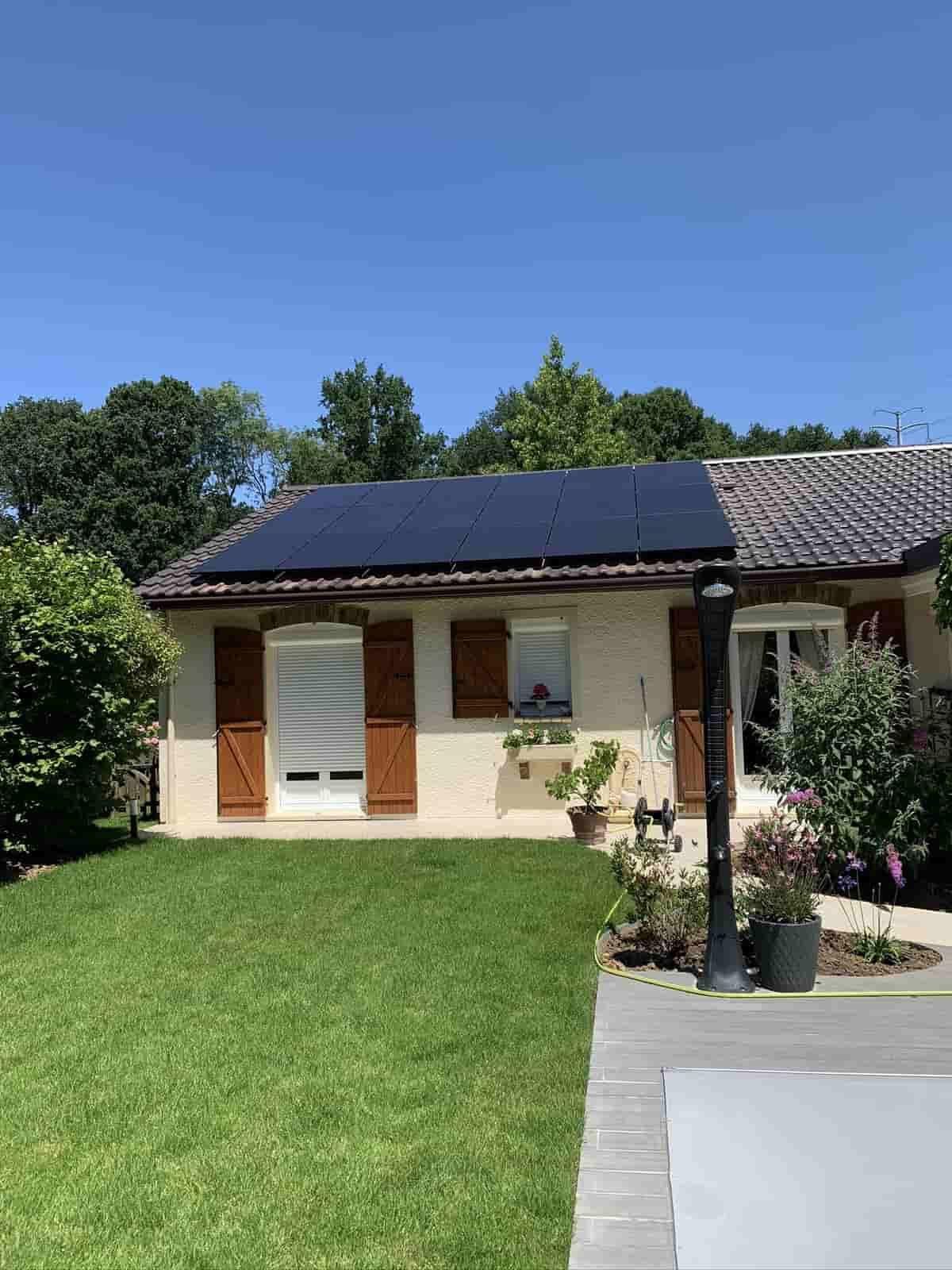 Installation solaire Elk