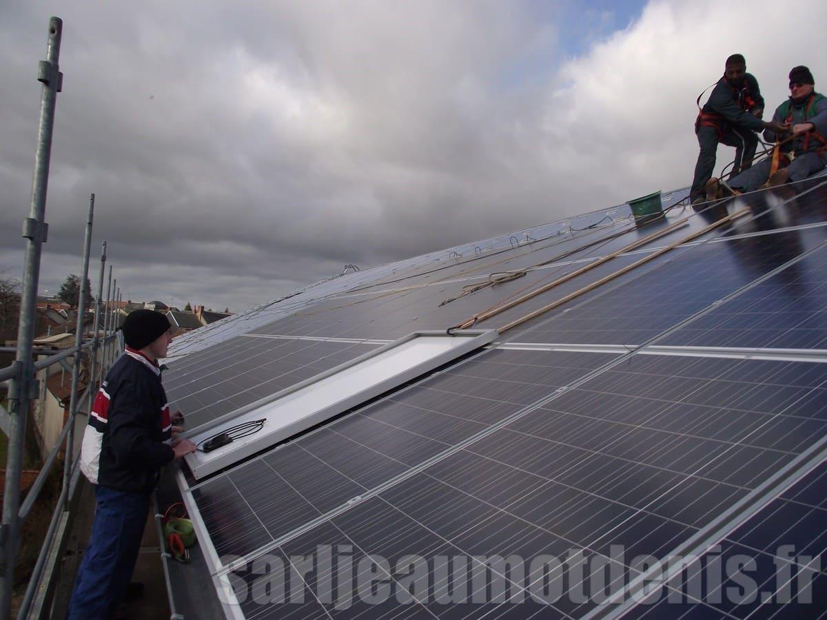 Installation panneau solaire Jeaumot