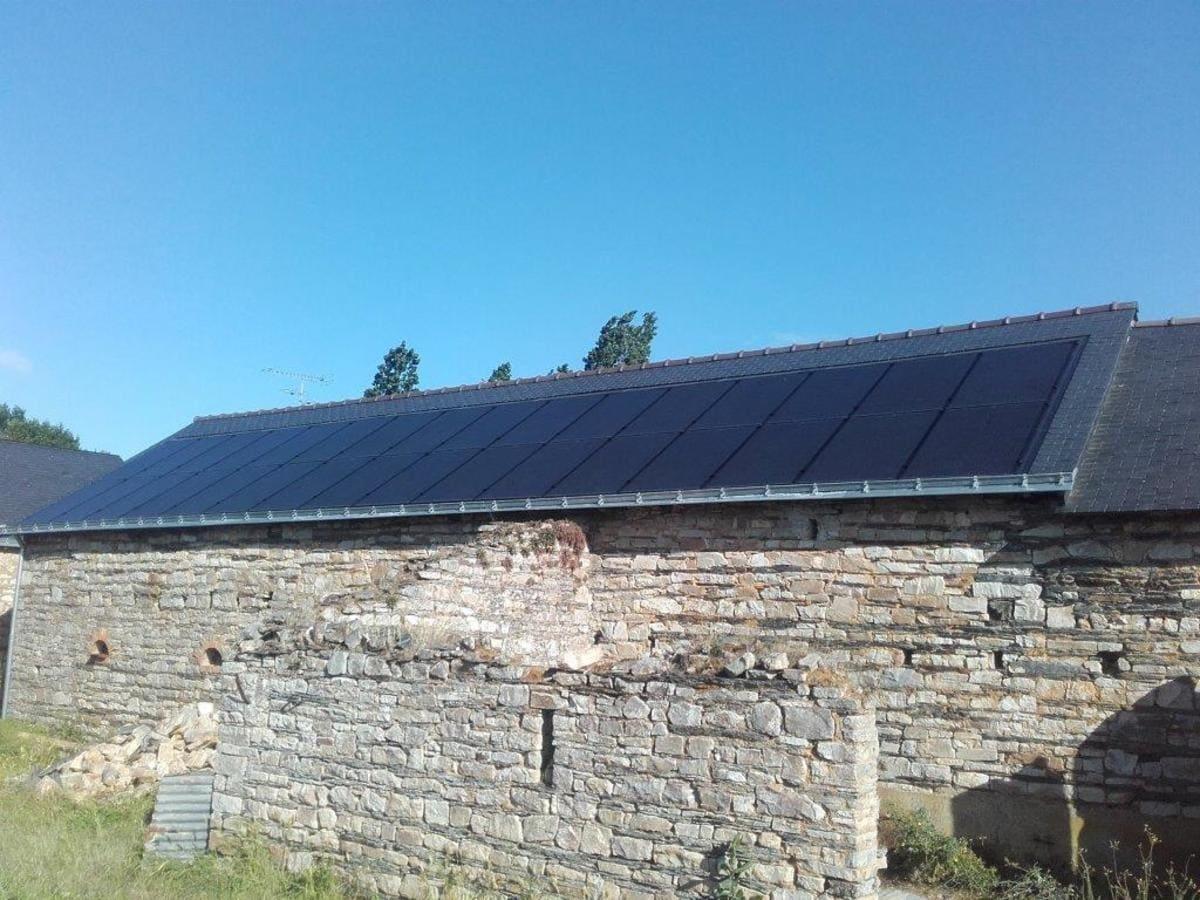Installation panneaux solaires Dlair