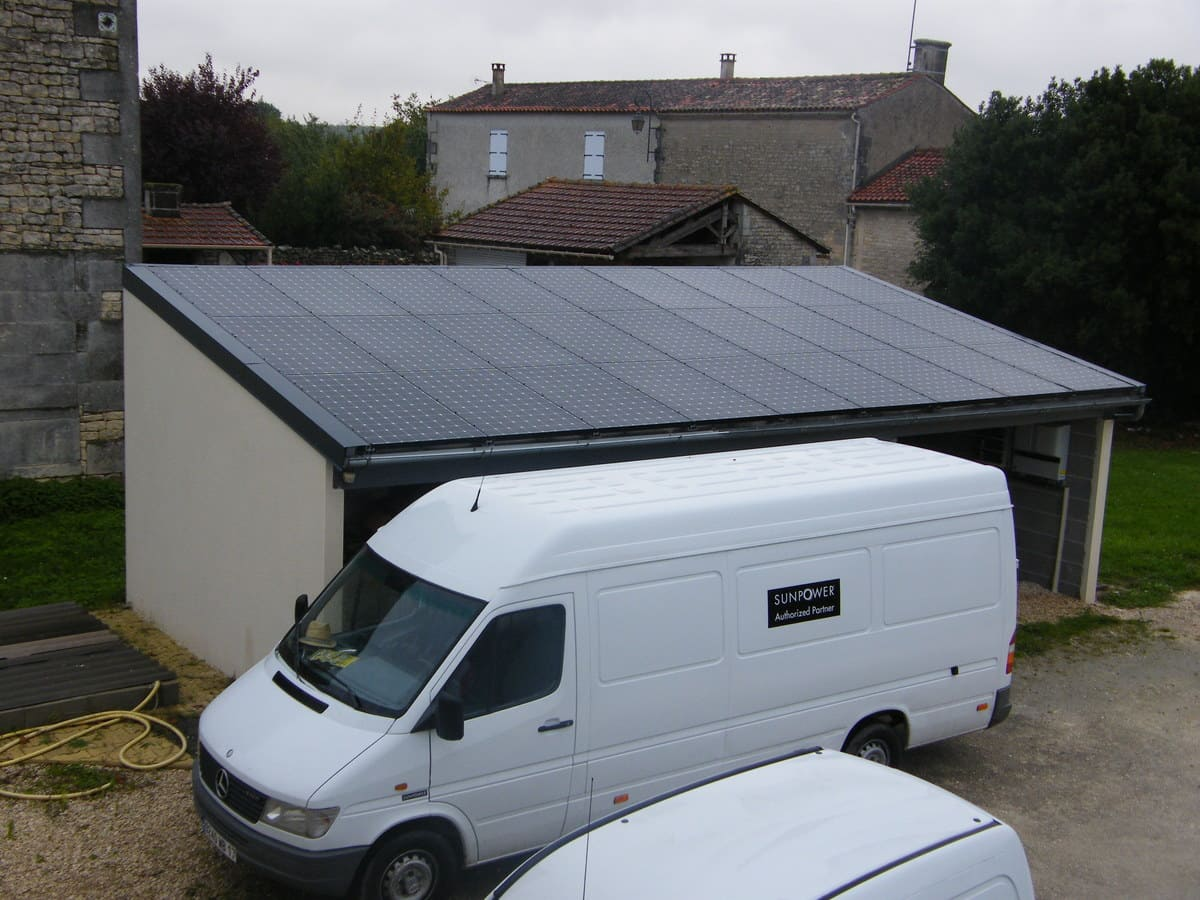 Installation panneaux solaires Metal Énergie