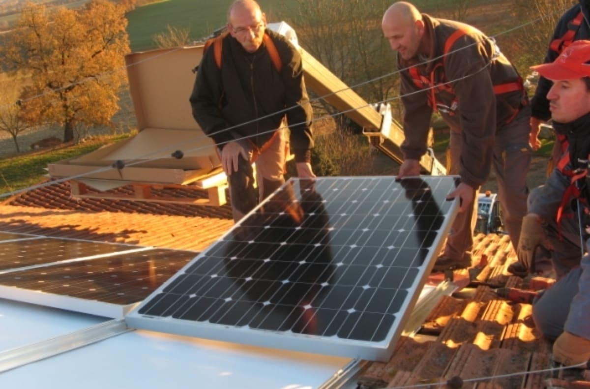 Installation photovoltaïque Rouilles G.E.R.S