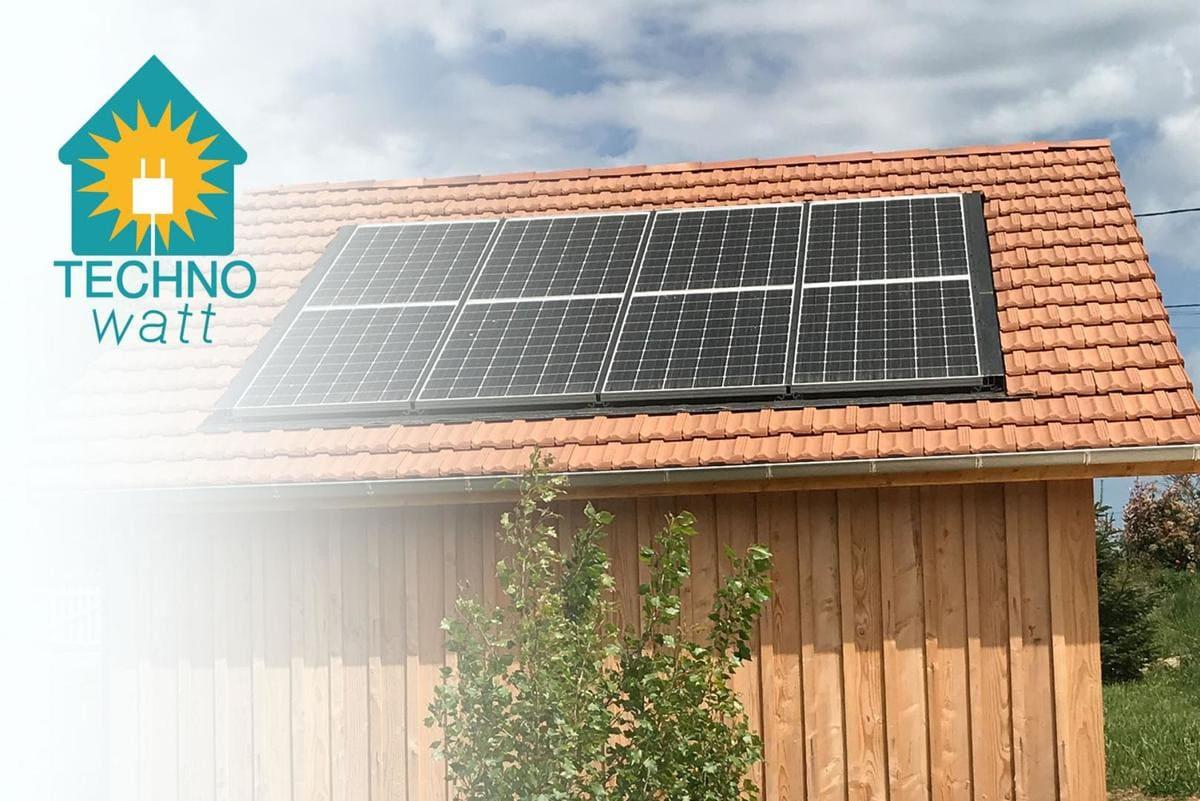 Installation panneaux solaires Technowatt