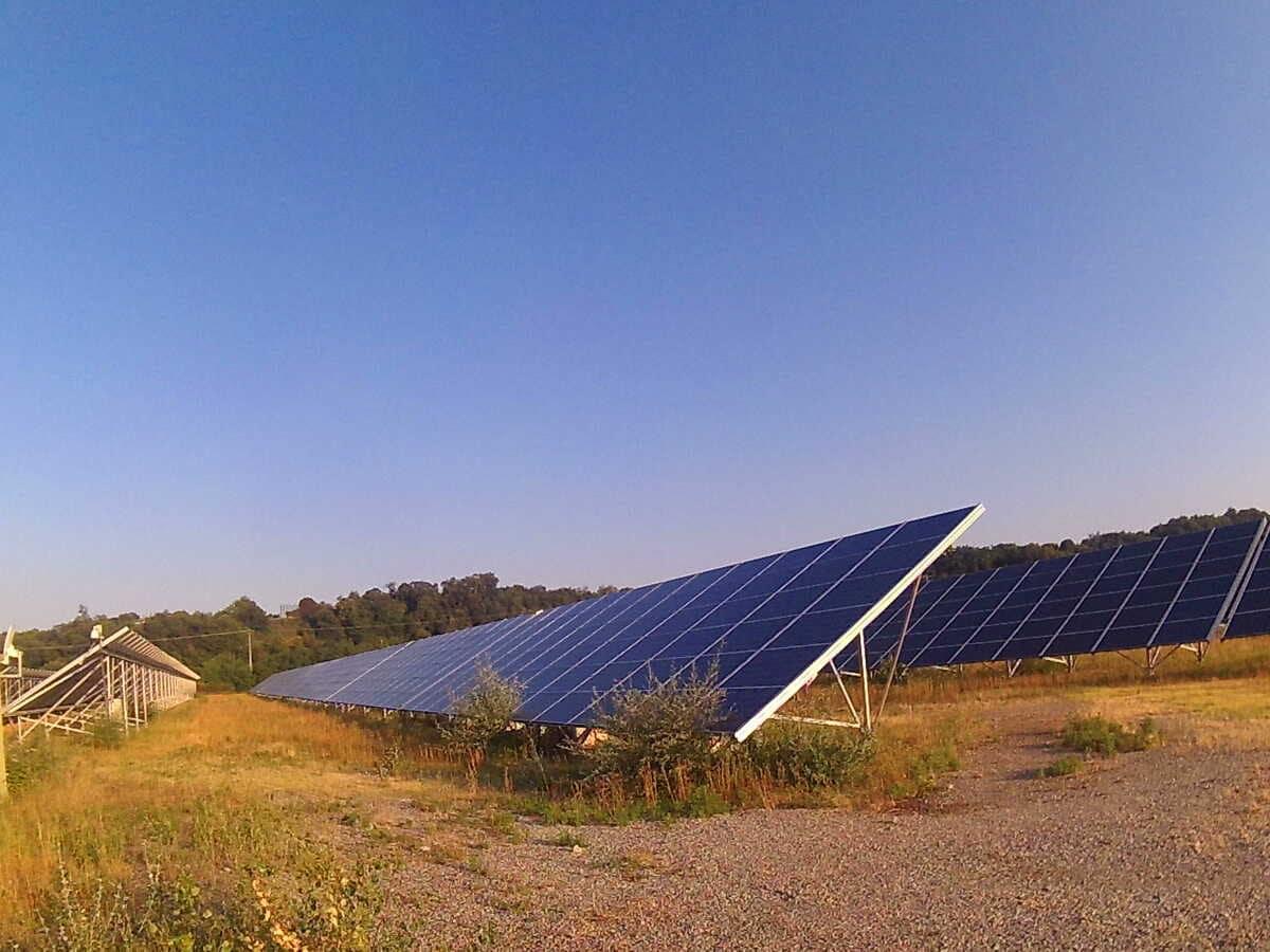 Les panneaux solaires projet d'installation