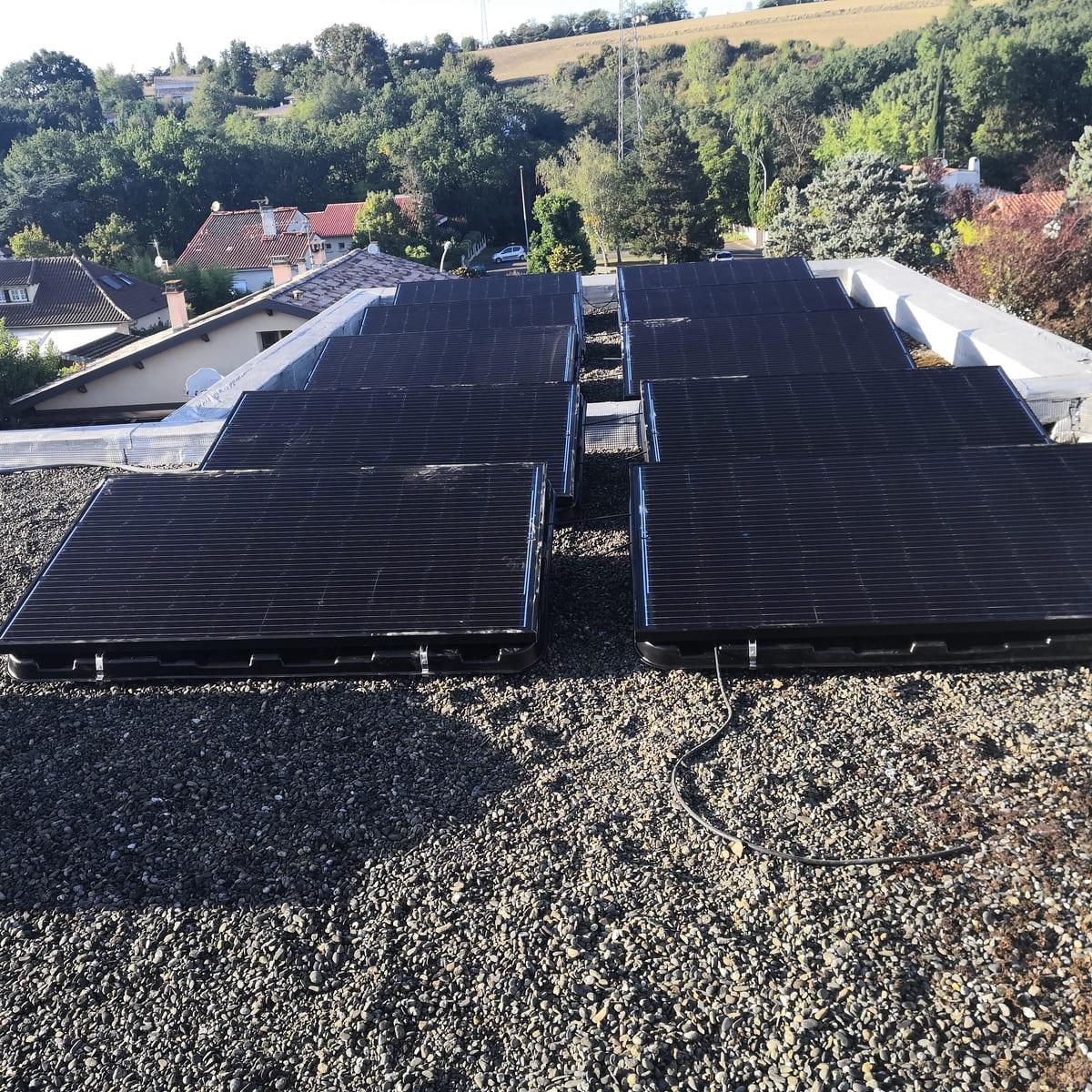 installation centrale photovoltaïque ENERGIE B