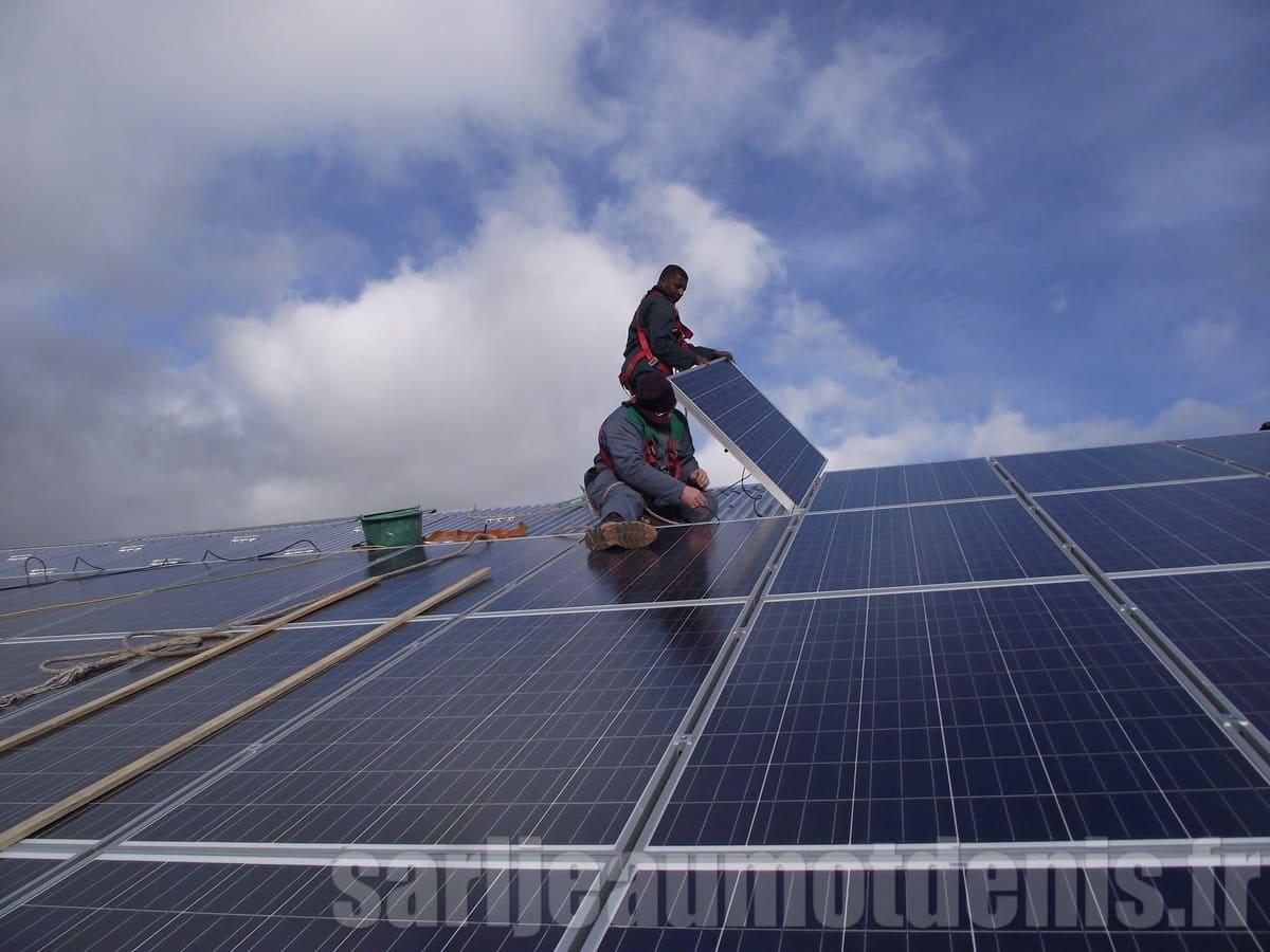 Installation photovoltaïque Jeaumot