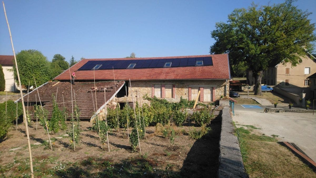 Installation solaire photovoltaïque Jura Energie Solaire