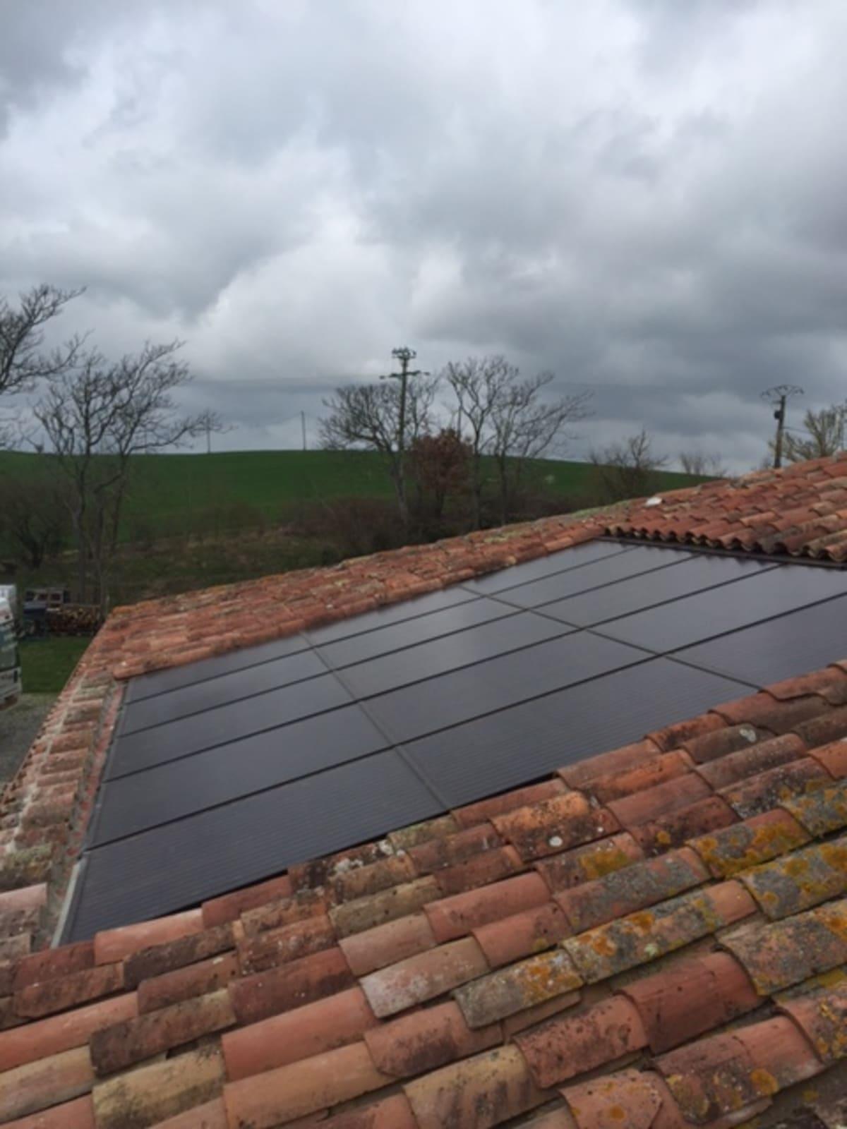 Installation panneaux solaires Rouilles G.E.R.S