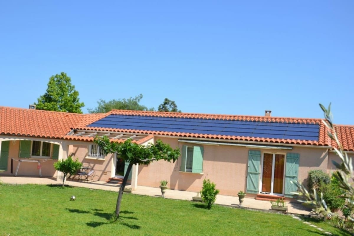 Installation solaire 9 kWc Energies Toitures