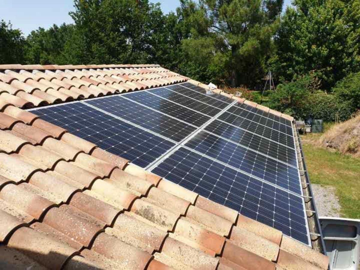 Installation solaire Agéo Azur Géothermie