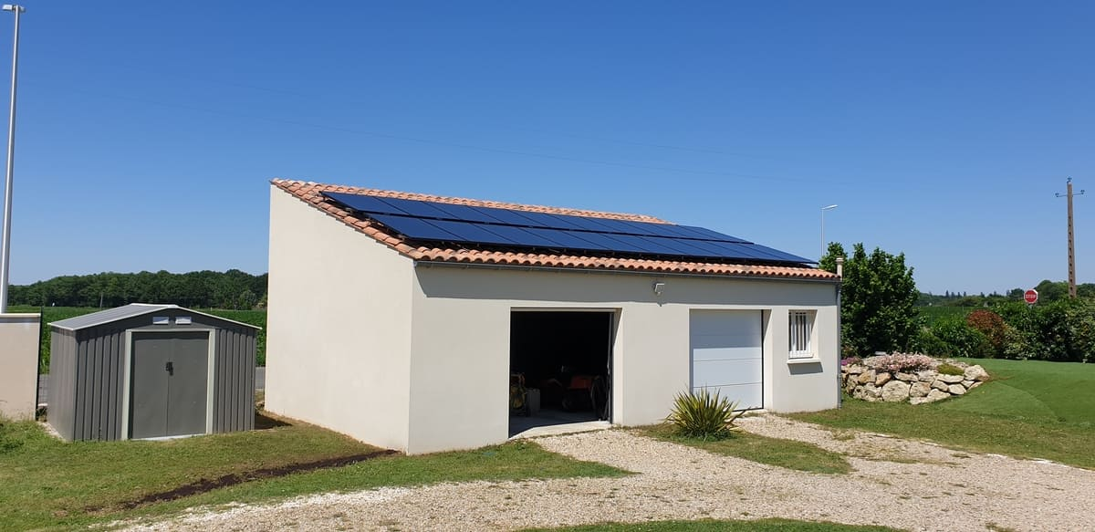 Installation solaire Alliance Energies 17