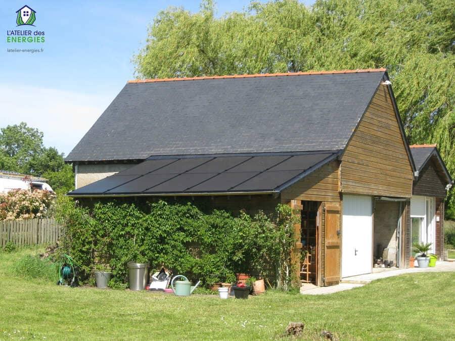 Installation solaire L'Atelier des énergies