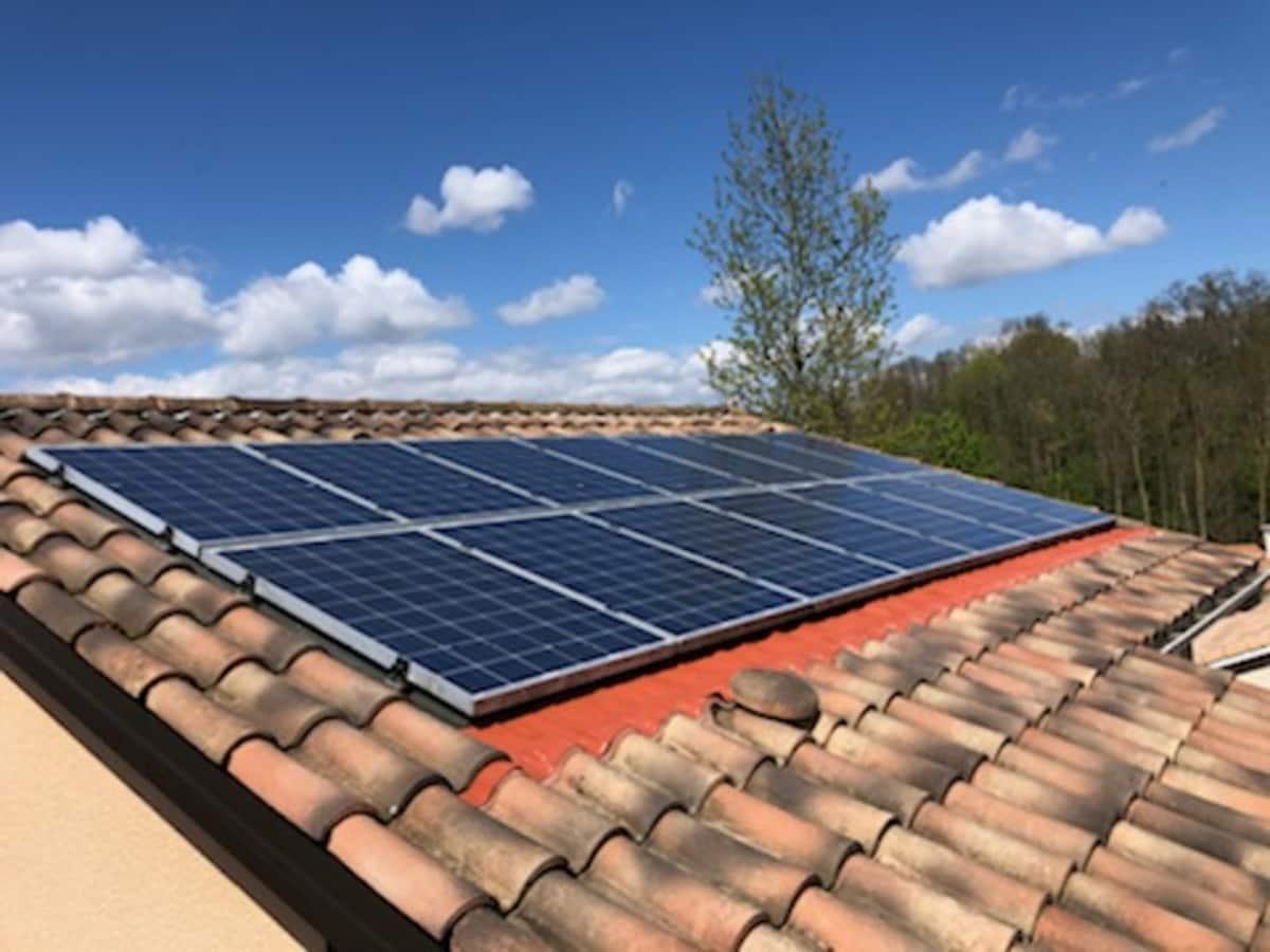 Installation solaire Sas Brival