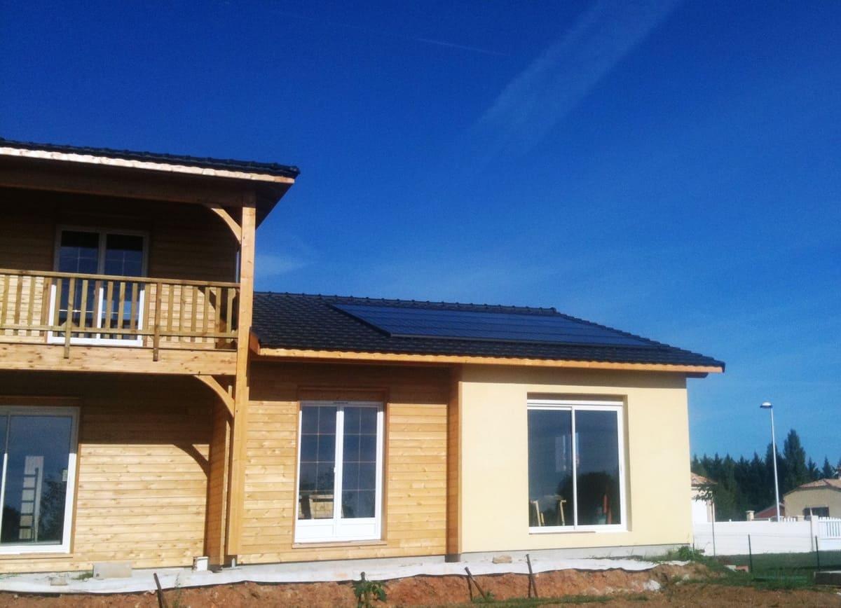 Installation solaire collective Quénéa