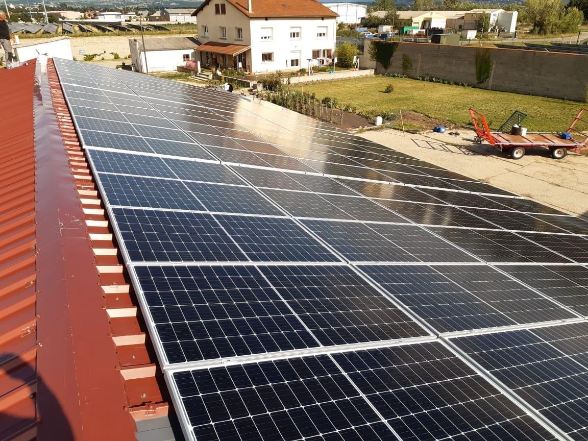 Installation solaire EI Castellanos