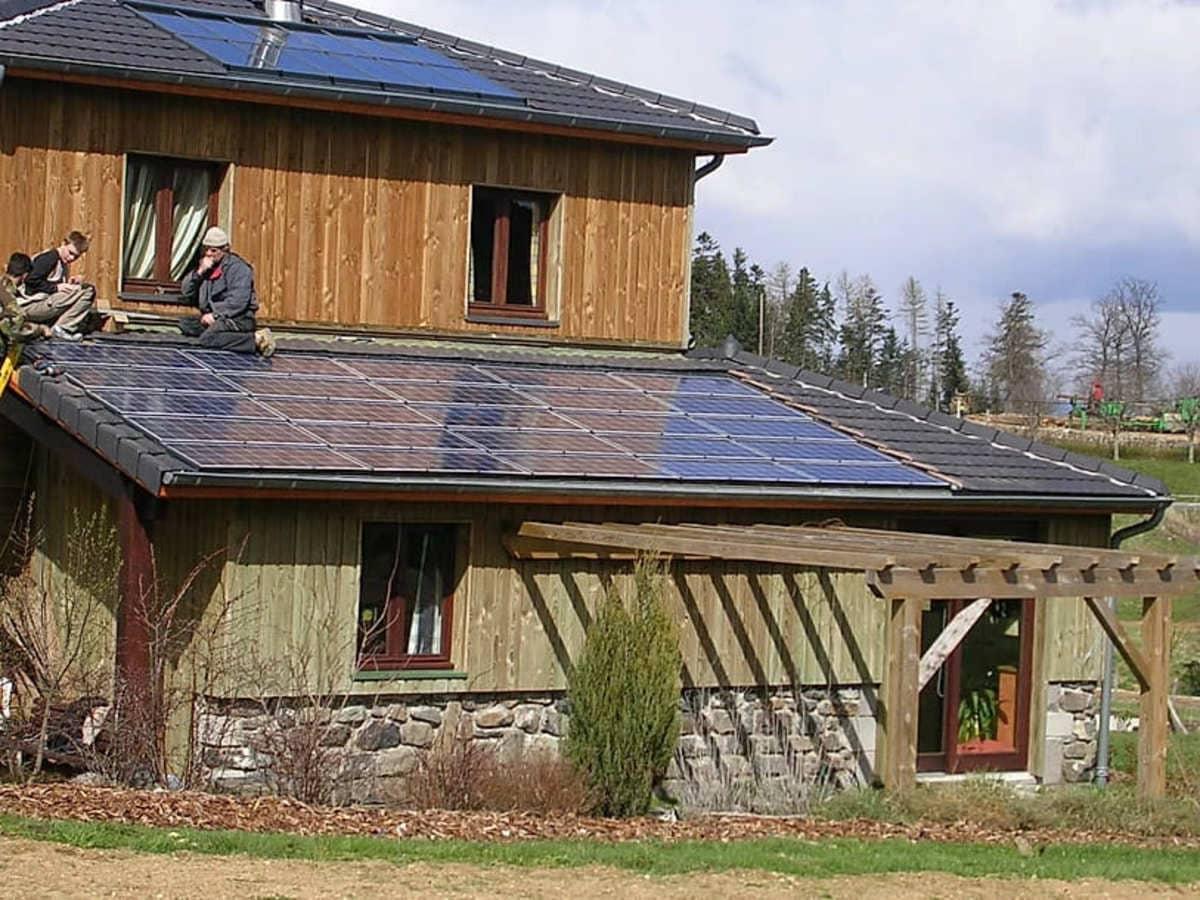 Installation solaire Etera