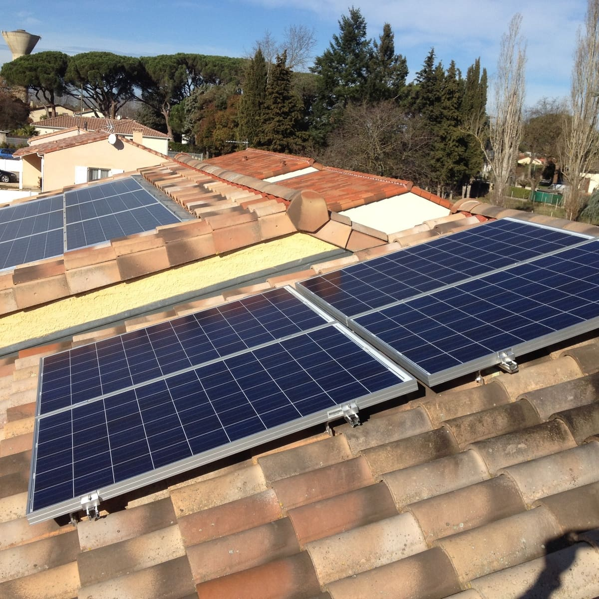 Installation solaire Fauré Synergie