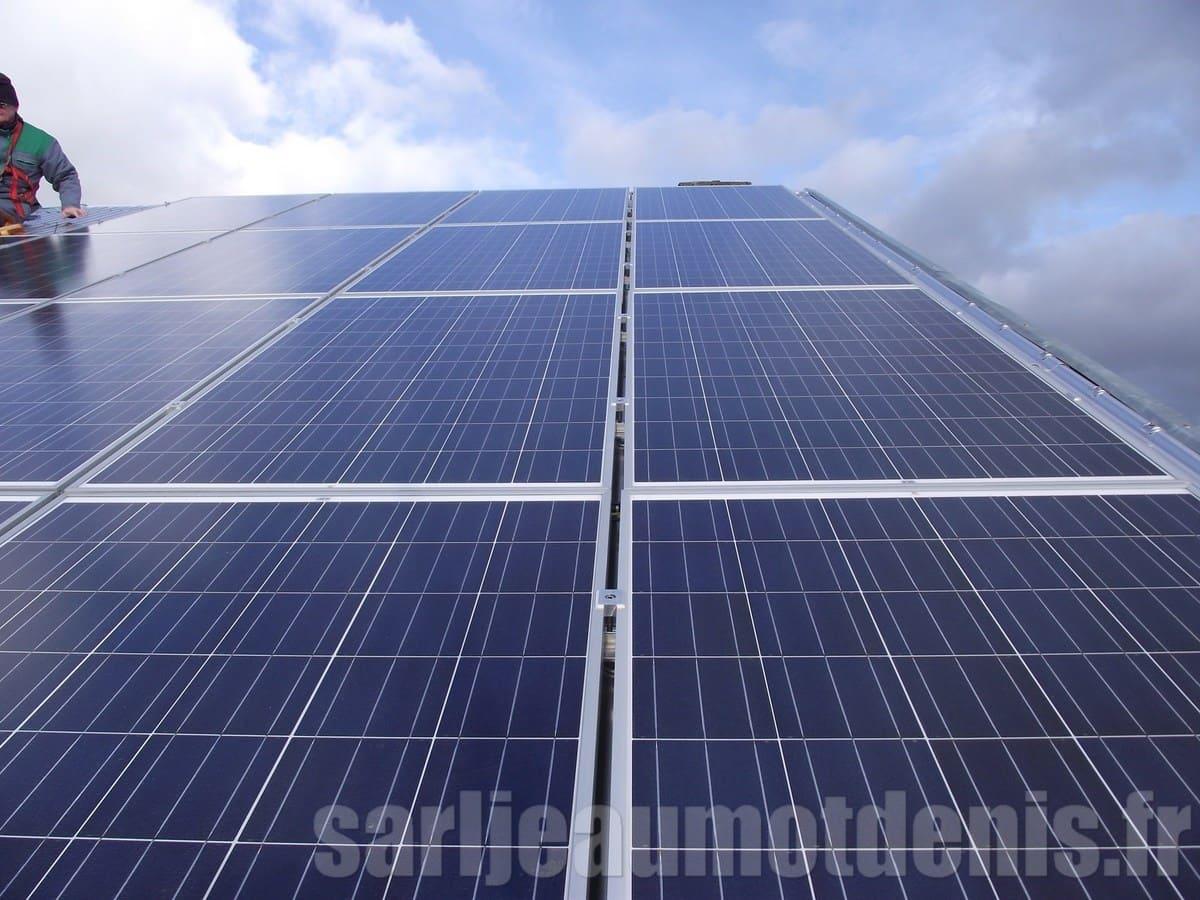 Installation solaire Jeaumot
