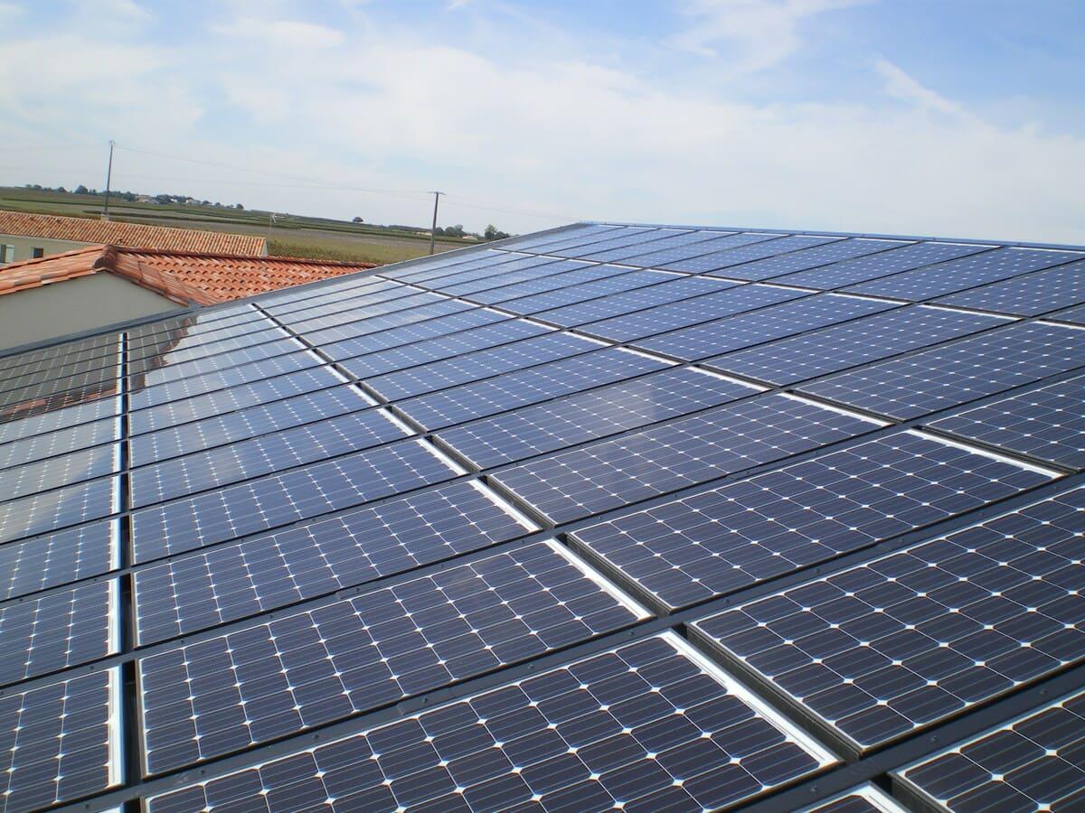 Installation solaire Metal Énergie