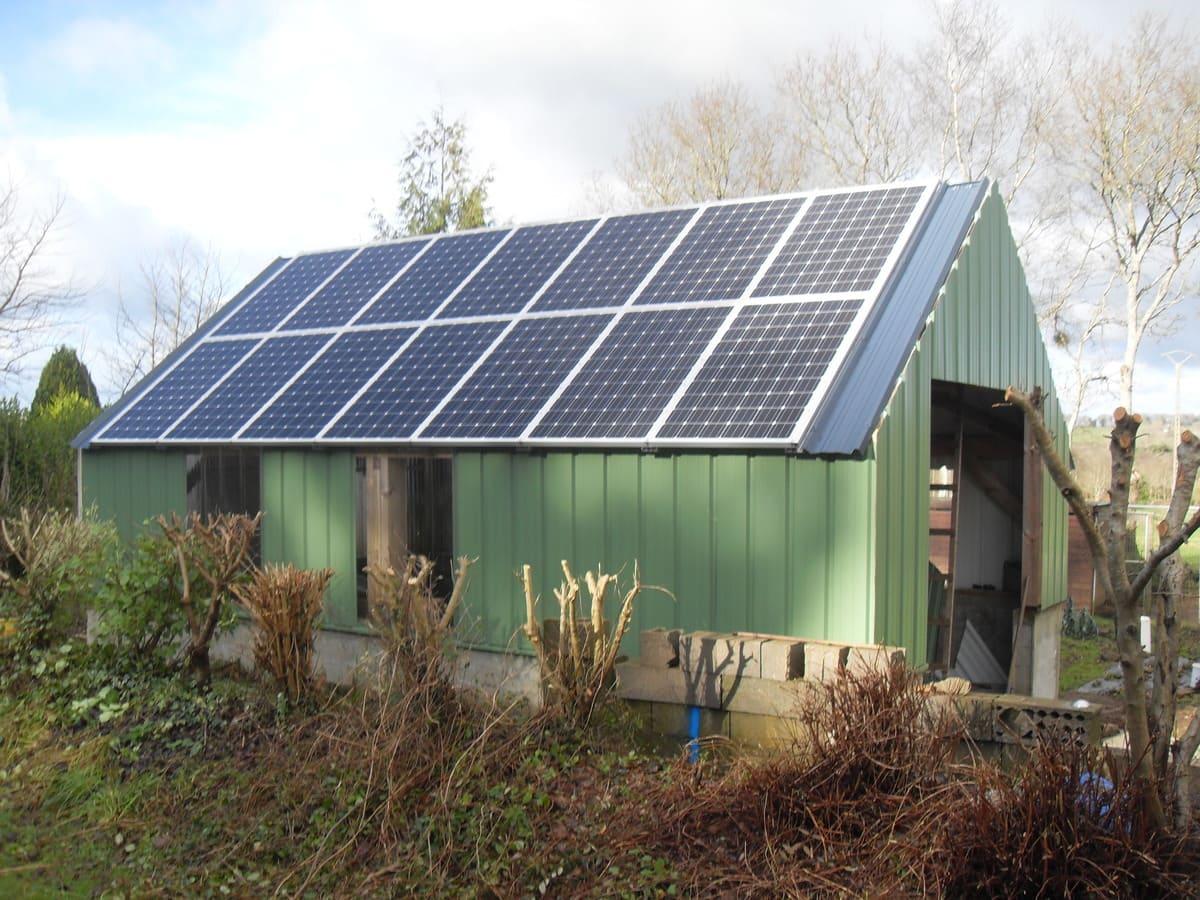 Installation solaire Quénéa