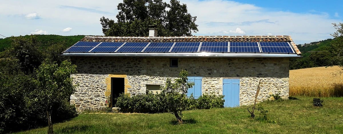 Installation solaire Quercy solaire