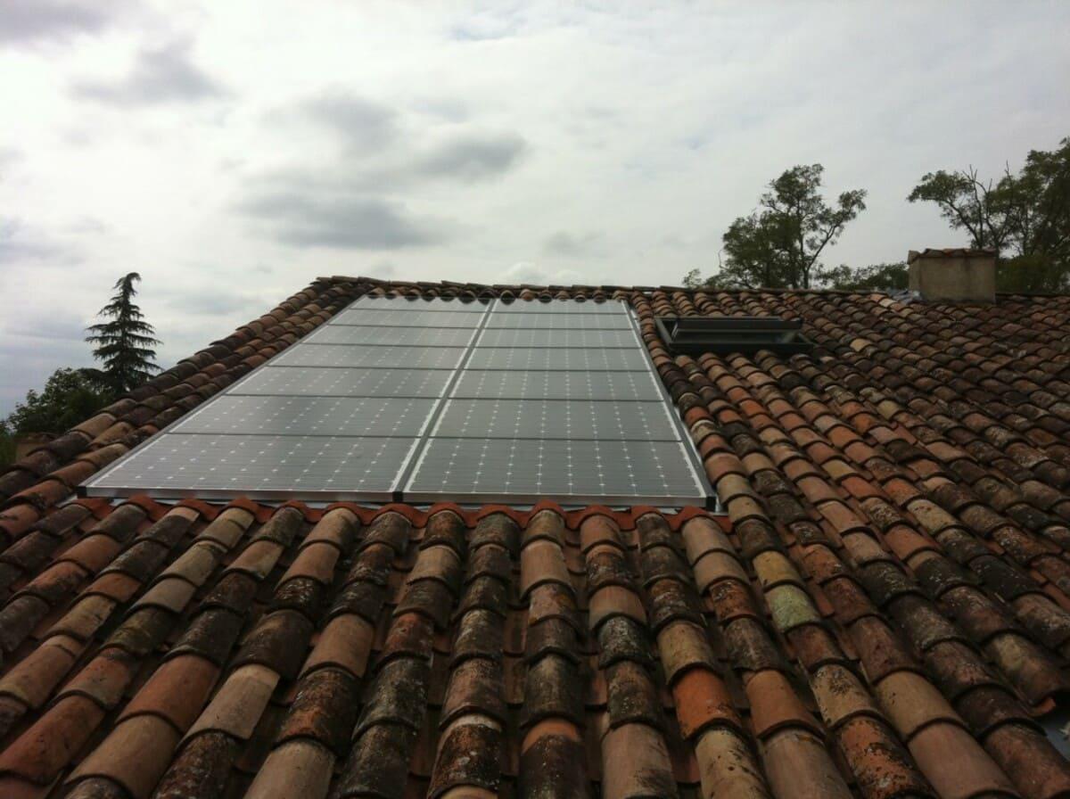Installation solaire Rouilles G.E.R.S